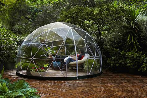 cupole trasparenti gazebo trasparente cupola giardino garden igloo 2 keblog