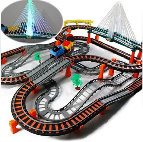 thomas the train follow the light good price free shipping large multilayer rail train