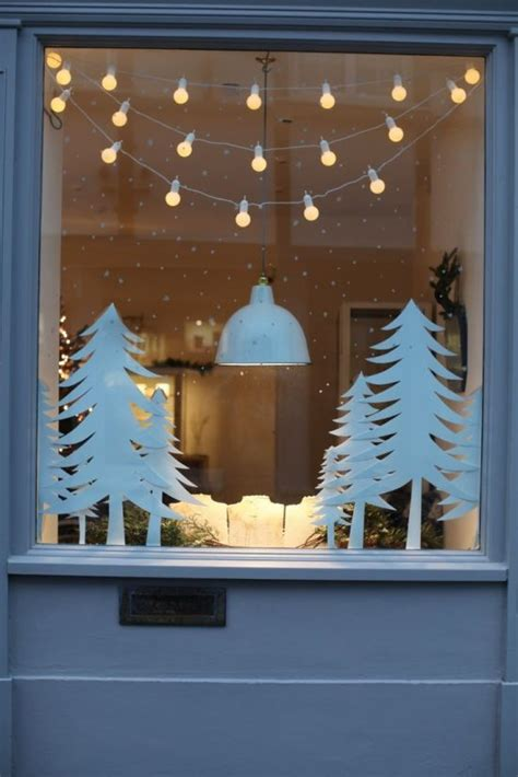 stylish ideas to decorate your windows for the christmas this year interior design