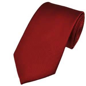 plain red silk tie from ties planet uk