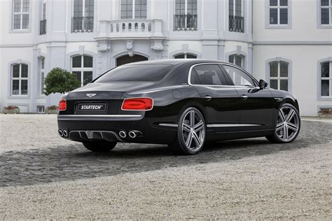 2017 bentley flying spur on rims startech infuses the continental flying spur with some