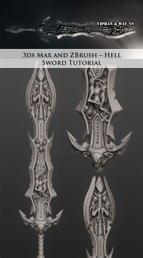 zbrush coin tutorial 3ds max and zbrush hell sword tutorial gfxdomain forums