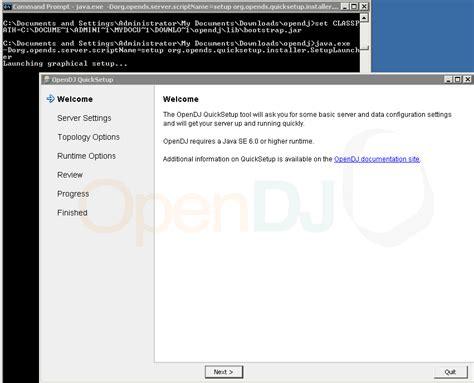 azlabs opendj 2 6 0 on windows platform