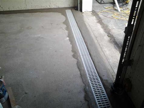 Drain In Front Of Garage Door Quality 1st Basement Systems Basement Waterproofing Photo Album Totowa Basement Waterproofing