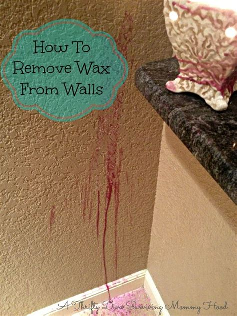 How To Remove Wax From Sofa by 25 Best Ideas About Removing Candle Wax On