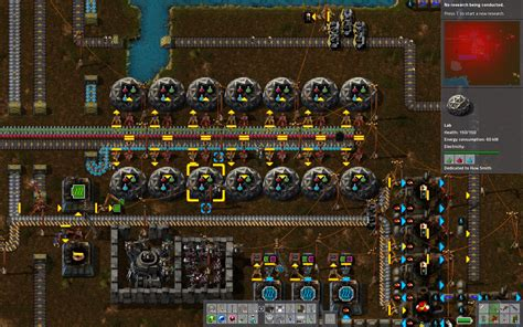factorio strike the earth with automated mining drills