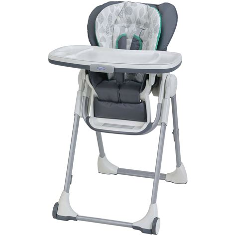 Hi Chair graco swiftfold high chair briar ebay