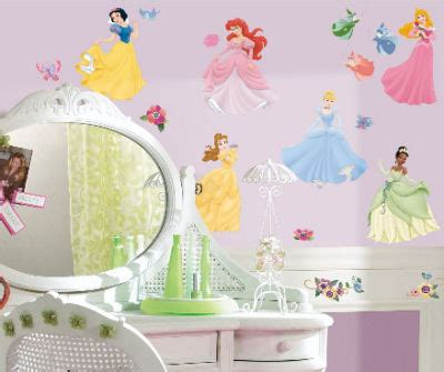 Disney Princess Nursery Decor Disney Wall Stickers And Decals For Your Baby S Nursery