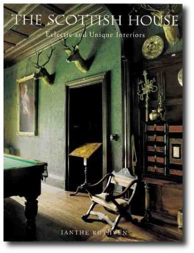 Scottish Home Decor by Grand And Scottish Country House Interior Decor Books
