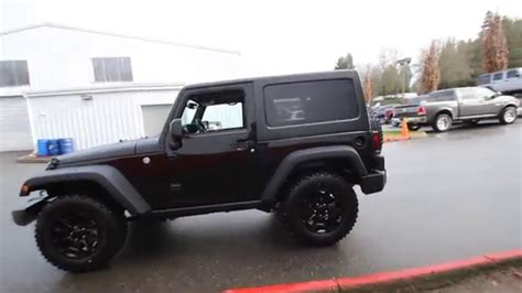 2016 jeep sport black on black 2016 jeep wrangler sport willys black clearcoat