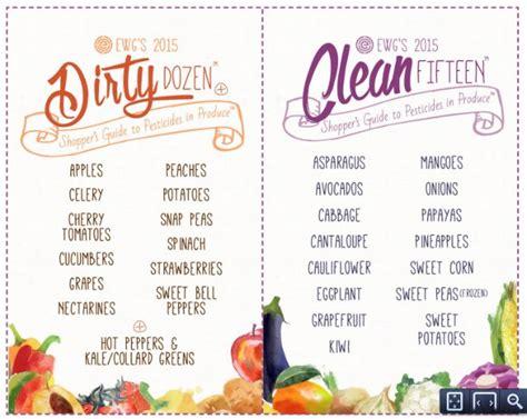 fruits u should buy organic 12 fruits and veggies you should avoid if buying non