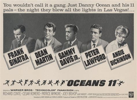 Poster Passion: Ocean's 11   Lara And The Reel Boy K 11 Poster