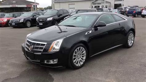 cadillac cts coupe performance used 2011 cadillac cts coupe 2dr performance awd pickering