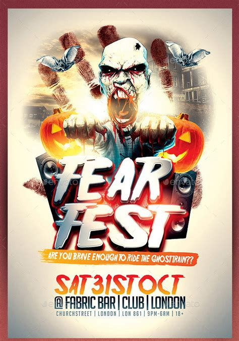 templates for halloween flyers 45 best halloween psd party flyer templates 2016