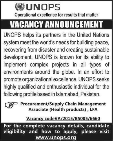 Mba Supply Chain Management Salary In Pakistan by Procurement Supply Chain Management In Islamabad