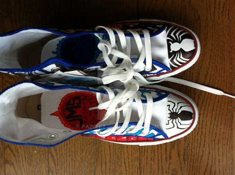 Venom Iphone 5 Custom and venom custom chuck taylors tops by painerz