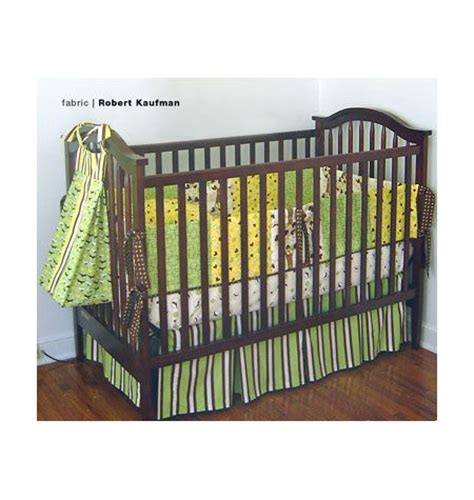 crib bedding patterns kwik sew crib bedding pattern k3685 nursery ideas