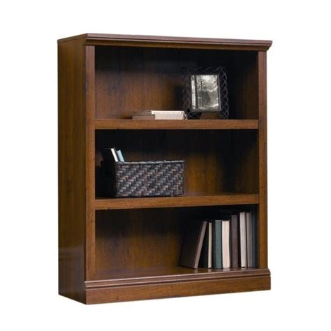 Sauder Oak Bookcase Sauder Select 3 Shelf Bookcase In Oak 411815