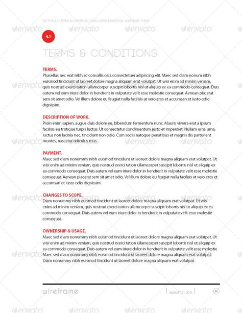 project proposal template bundle w invoice contract by