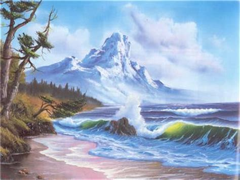 bob ross painting seascape bob ross seascape collection 3 dvd set 13 of bob s