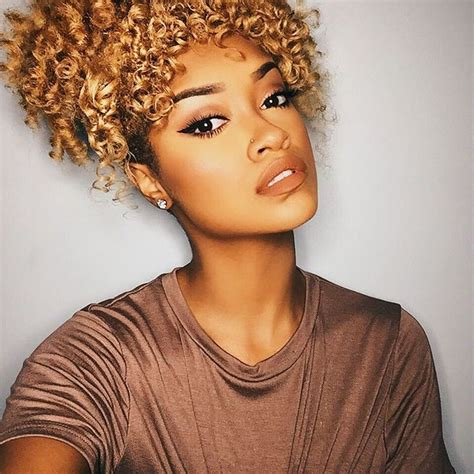 blonde natural hairstyles 336 best brown skin beautiful honey blondes images on