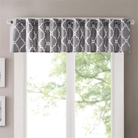 curtains curtains curtains reviews three posts winnett light filtering 50 quot curtain valance