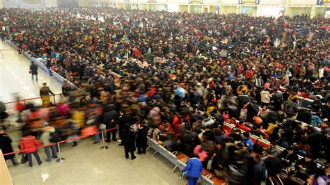 new year migration in china largest annual human migration begins