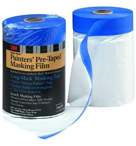 3m handmasker pretaped plastic drop cloth 3m masker pretaped plstc drop cloth pt2090 24 06696