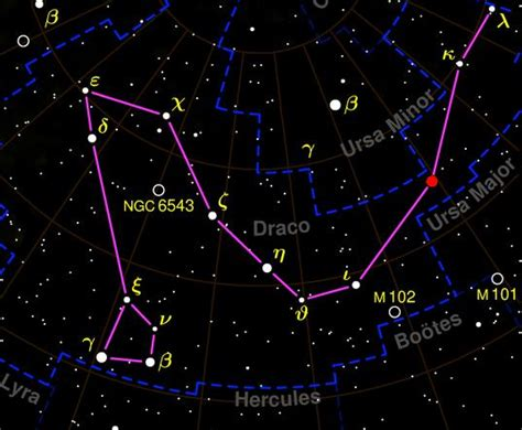 Constellation Draco by Draco Constellation Facts About The