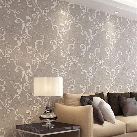 Beige/Brown/Yellow/Green/Cream Modern Bedroom Wallpaper