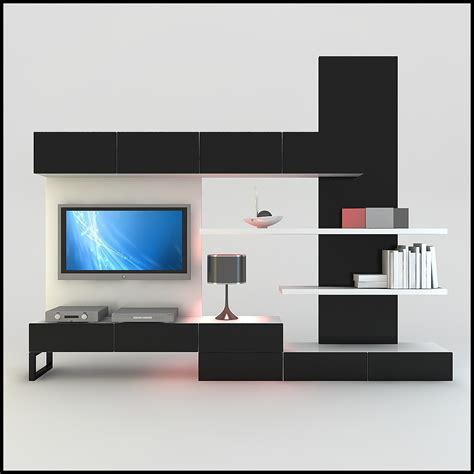 modern tv wall home design tv unit units and walls on pinterest