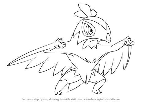 pokemon coloring pages hawlucha pokemon hawlucha images pokemon images