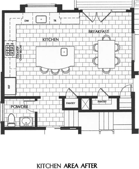 kitchen layout chart amazing kitchen floor plans with islands and breakfast bar