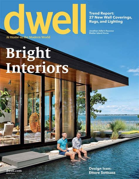 best home decor design magazines dwell magazine only 4 99 year
