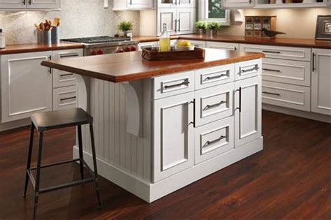 kraftmaid kitchen island industry insider richards building supply