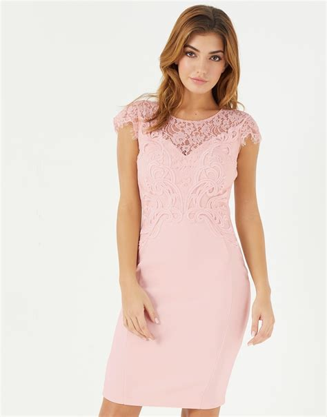 lipsy lace applique dress lipsy lace applique detail bodycon dress lipsy