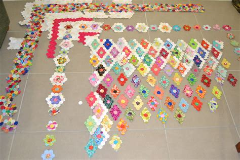 Hexagon Patchwork Projects - hexagon quilt the projects of my