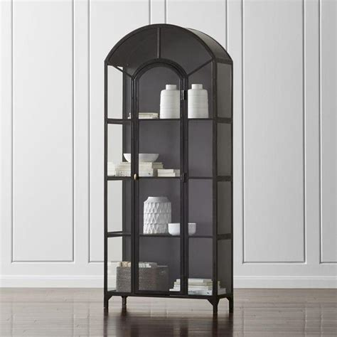 wood framed glass cabinet doors black frame glass display cabinet