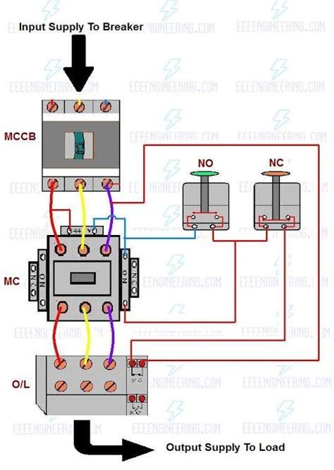 dol starter wiring diagram 3 phase 34 wiring diagram