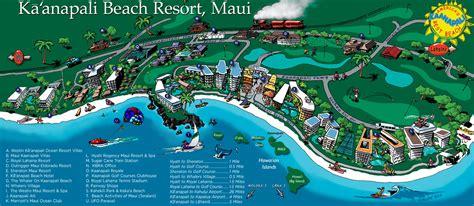 kaanapali resort map ka anapali fresh ka anapali resort map