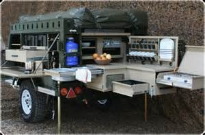 Well Designed Kitchens using survival trailers for bugging out american