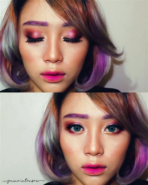 Makeup Sariayu all purple makeup i ll call it poison berry sariayu mt 25 best color choice of asian