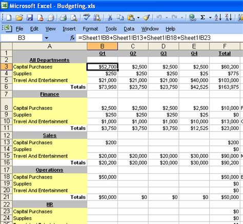 Excel Spreadsheets For Business by Spreadsheets Multi User Business Spreadsheets