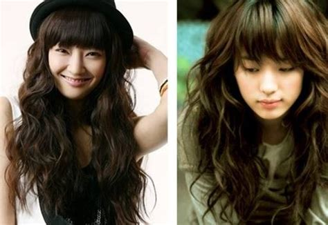 before and after korean short perm hairstyle beach wave perm short hair articles and pictures