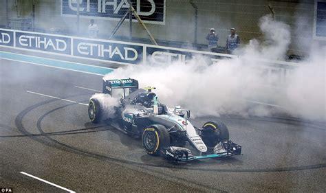 Abu Dhabi Race Car Rental Nico Rosberg Survives Late Lewis Hamilton Tricks To Win