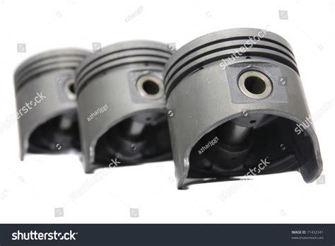 Spare Part Piston set of new piston spare part stock photo 71432341