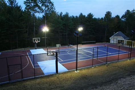 Outdoor Basketball Court Lights Outdoor Basketball Courts Flooring Backyard Basketball Courts Courts Modular