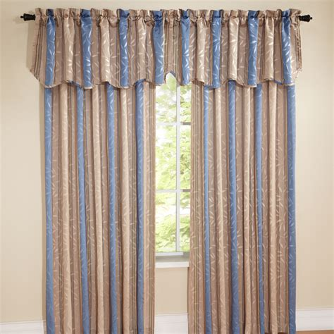 blue striped drapes whitfield stripe curtains blue view all curtains