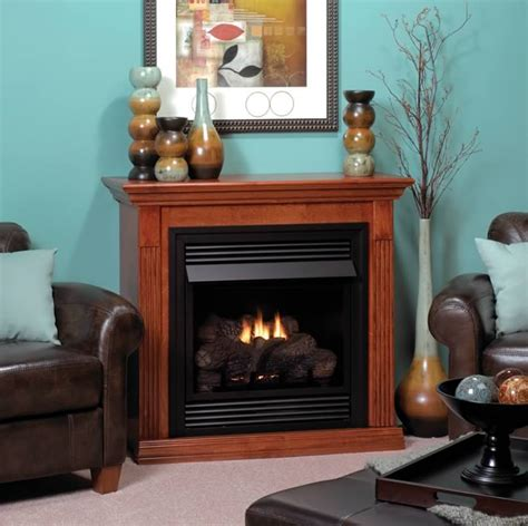 empire gas fireplaces empire vail 26 fireplace system with mantel s gas
