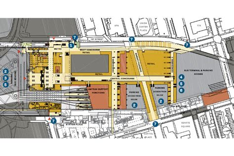 union station dc floor plan amtrak announces ambitious eco plans for hok designed